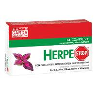 HERPESTOP 14CPR 650MG