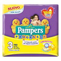 PAMPERS Progressi Sensitive 28 pezzi