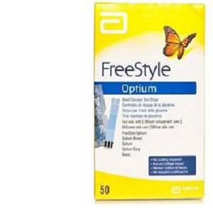 FREESTYLE OPTIUM TEST STRIPS50